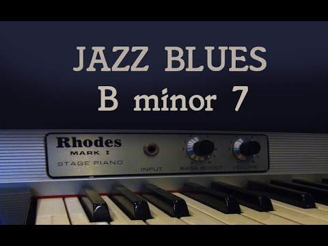 Jazz blues backing
