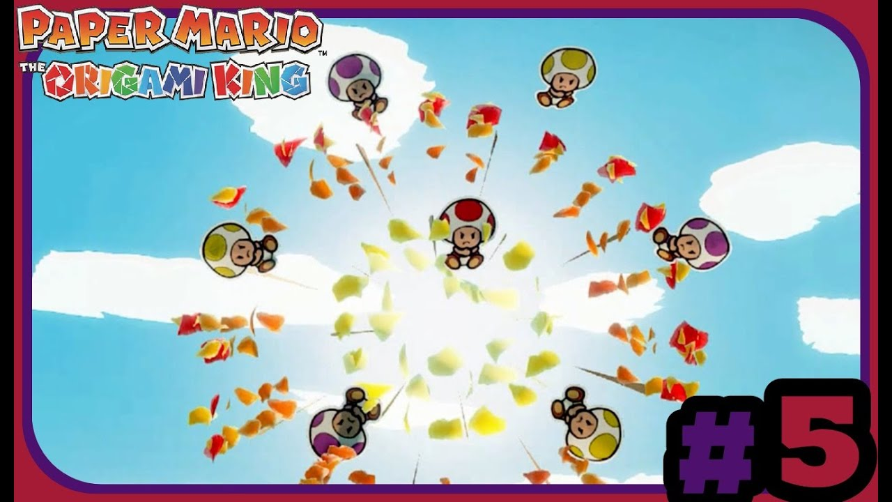 Paper Mario The Origami King (Part 5) Par For the Course