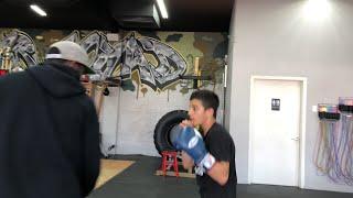 Full Workout Boxing Prodigy Julius Ballo Esnews thumbnail