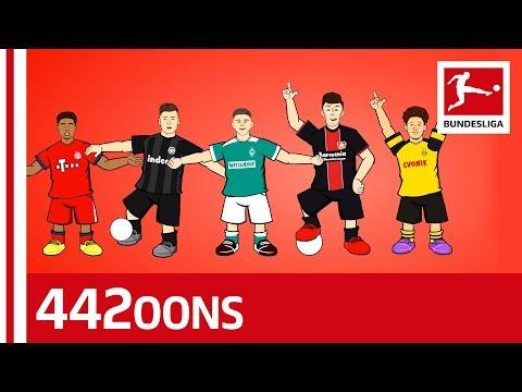 The Bundesliga Boy Band - Sancho, Havertz, Jovic & Co. - Powered by 442oons