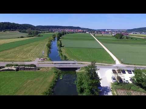 Brenz - Heidenheim - Drohnen-Flug Phantom 3 [HD] // #008