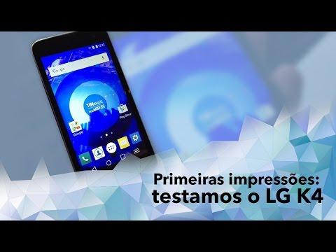 Hands-on: Testamos O Novo Smartphone LG K4