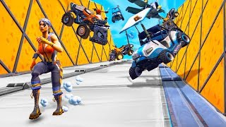 SURVIVE THE UNSTOPPABLE VEHICLE AVALANCHE in Fortnite Battle Royale