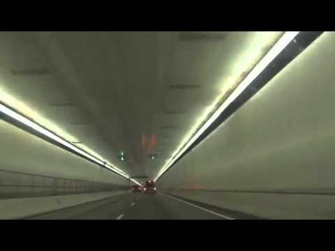 Random Drive Through Tunnel