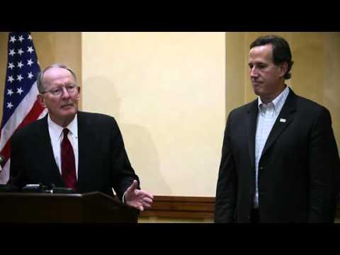 Sen. Lamar Alexander discusses partisan politics