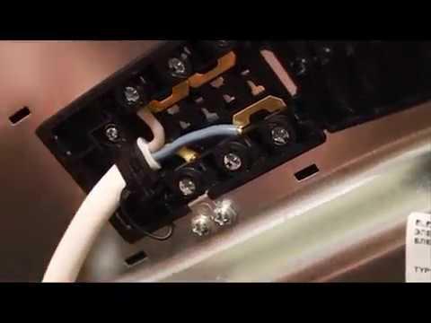 Как подключить электроплиту. Подключение и установка плиты.