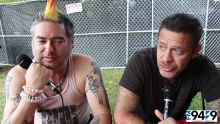 FM949 interview with NOFX at Riot Fest