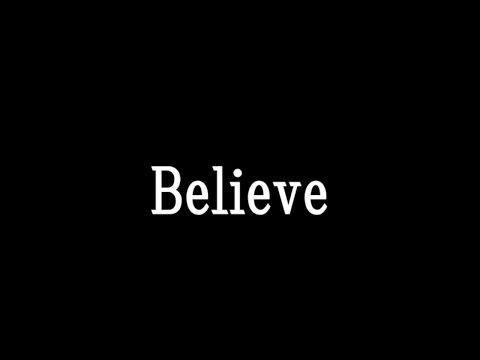AI【believe】歌詞付き full カラオケ練習用 メロディなし【夢見るカラオケ制作人】