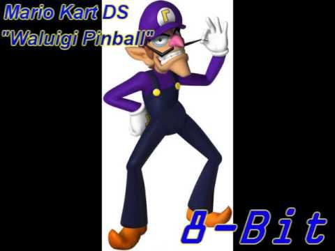 Mario Kart Ds Waluigi Pinball 8 Bit