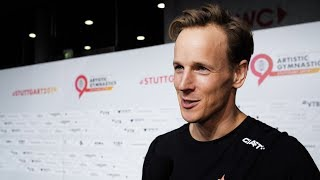 Epke Zonderland (NED) Interview 2019 Worlds Stuttgart - Qualifications
