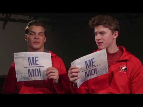 HIM or ME - Noah Juulsen & Carter Hart