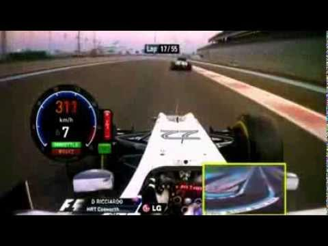Download F1 Yas Marina 2011 Daniel Ricciardo HRT Cosworth F111