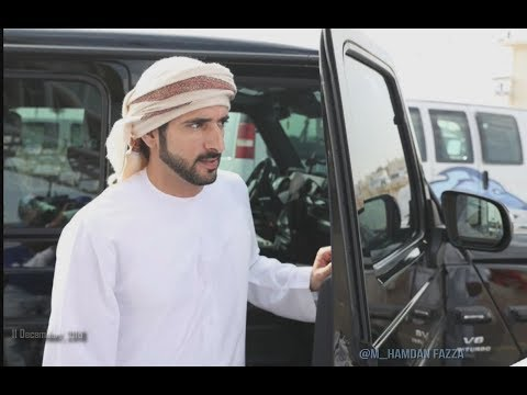 Sheikh Hamdan ( فزاع Fazza) Dubai Camel Racing Club (11 December, 2018)