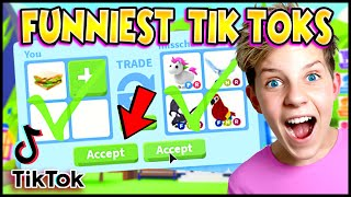 Funniest ADOPT ME TikTok Compilation!! Working HACKS and Relatable!! (Roblox Adopt Me) PREZLEY