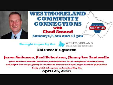 Westmoreland Community Connections: April 29, 2018
