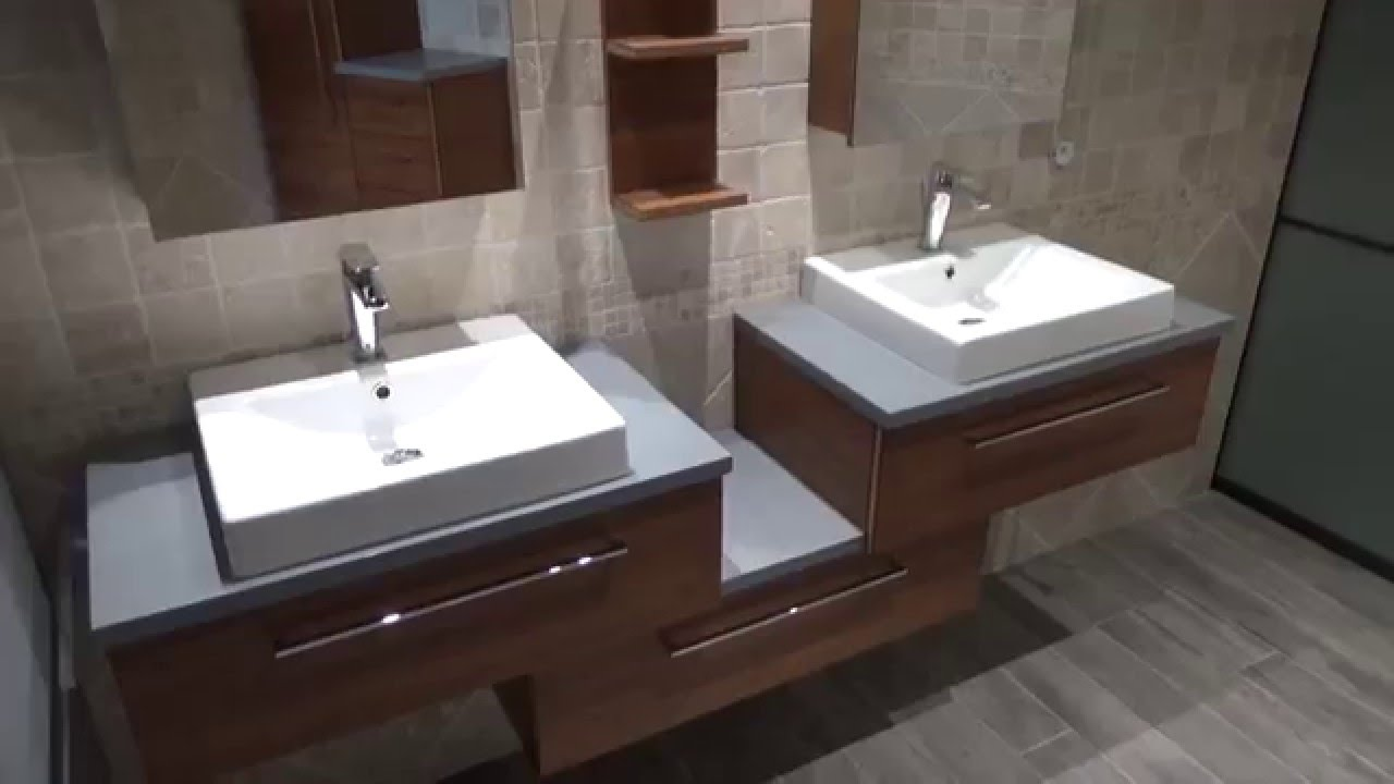 Meuble Salle De Bain Bois Et Ardoise ~ awesome salle de bain ardoise et bambou de design photos et id es