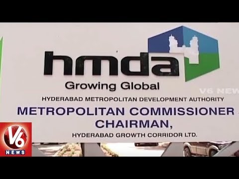 HMDA To Take Up Five Radial Road Works In Hyderabad | V6 News