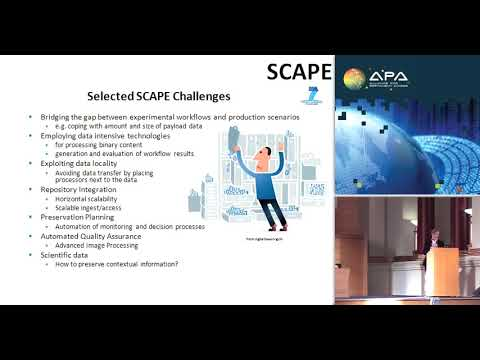 SCAPE: scaleable preservation environments