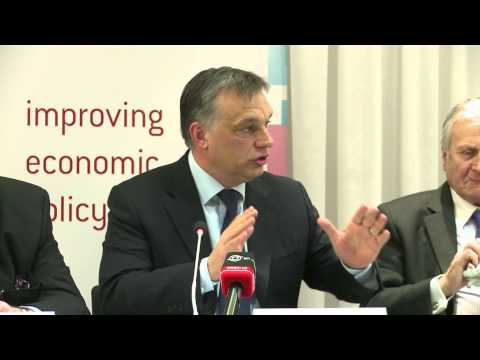 Hungary's Viktor Orbán at Bruegel: What future for Hungary i