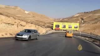 طريق واد النار شرق القدس