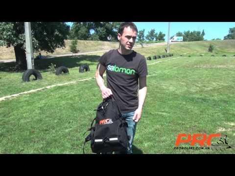 Обзор рюкзака для роликов Pro R
