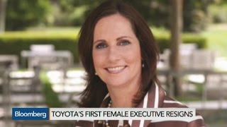 Toyota's First Female Executive Julie Hamp Resigns