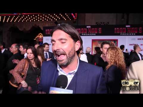 Writer Drew Pearce 'Iron Man 3' Premiere