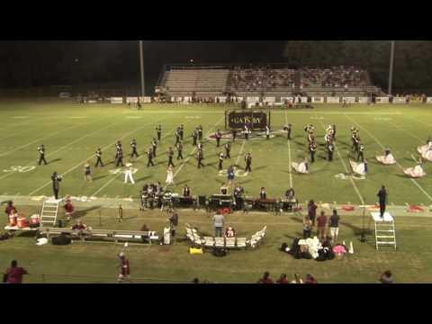 Crockett County High School Marching Band September 16, 2016