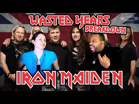 IRON MAIDEN Wasted Years Reaction!!