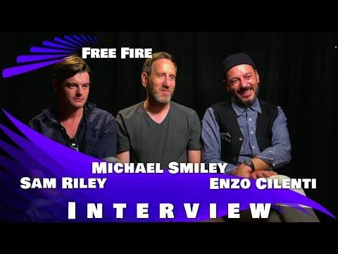 Sam Riley, Michael Smiley & Enzo Cilenti   Free Fire