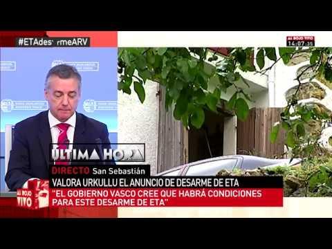 Traducción Iñigo Urkullo Al Rojo Vivo La Sexta