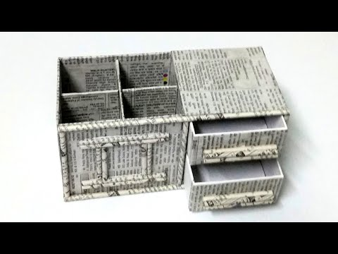 Mobile Box Reuse Idea/Best Out Of Waste Craft Idea