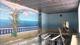 дизайн и монтаж(В ролике показаны монтажные работы по укладке мозаики мастерами студио мозаики