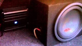 "New Alpine Audio Equipment  12"" Type R Sub and New MRX-M50"