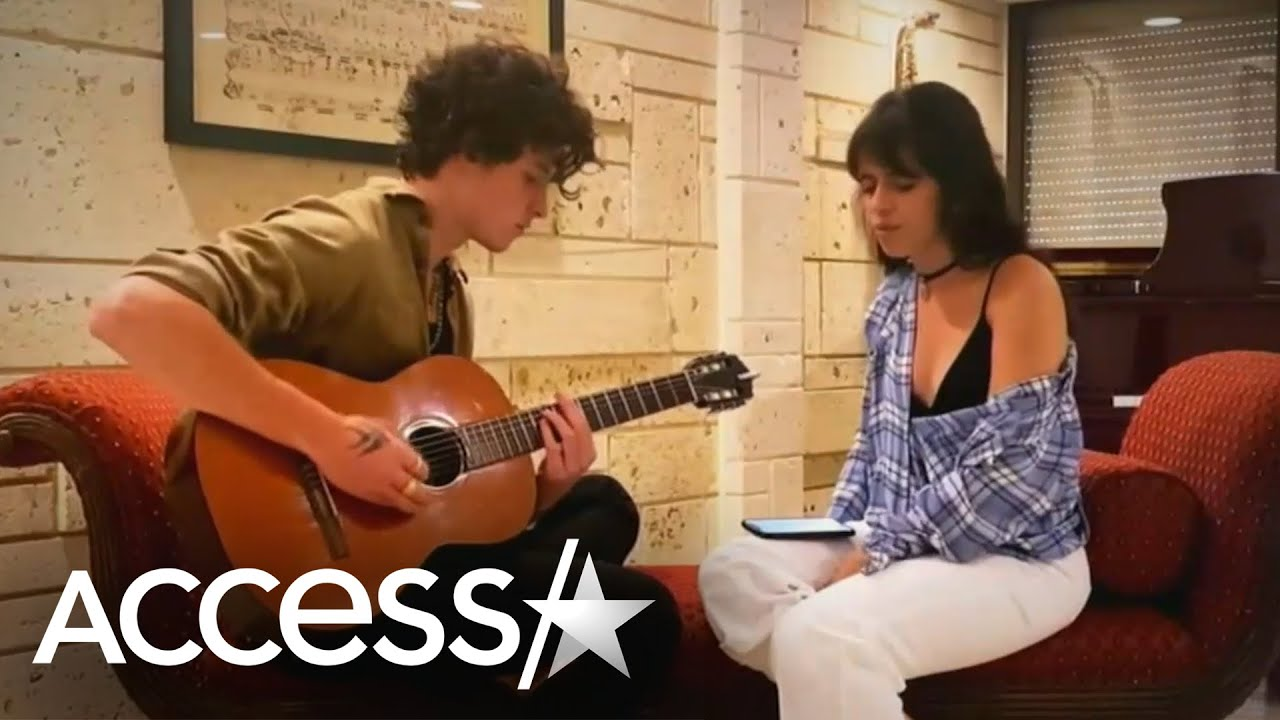Camila Cabello Gives Heartfelt Performance With Shawn Mendes On Guitar