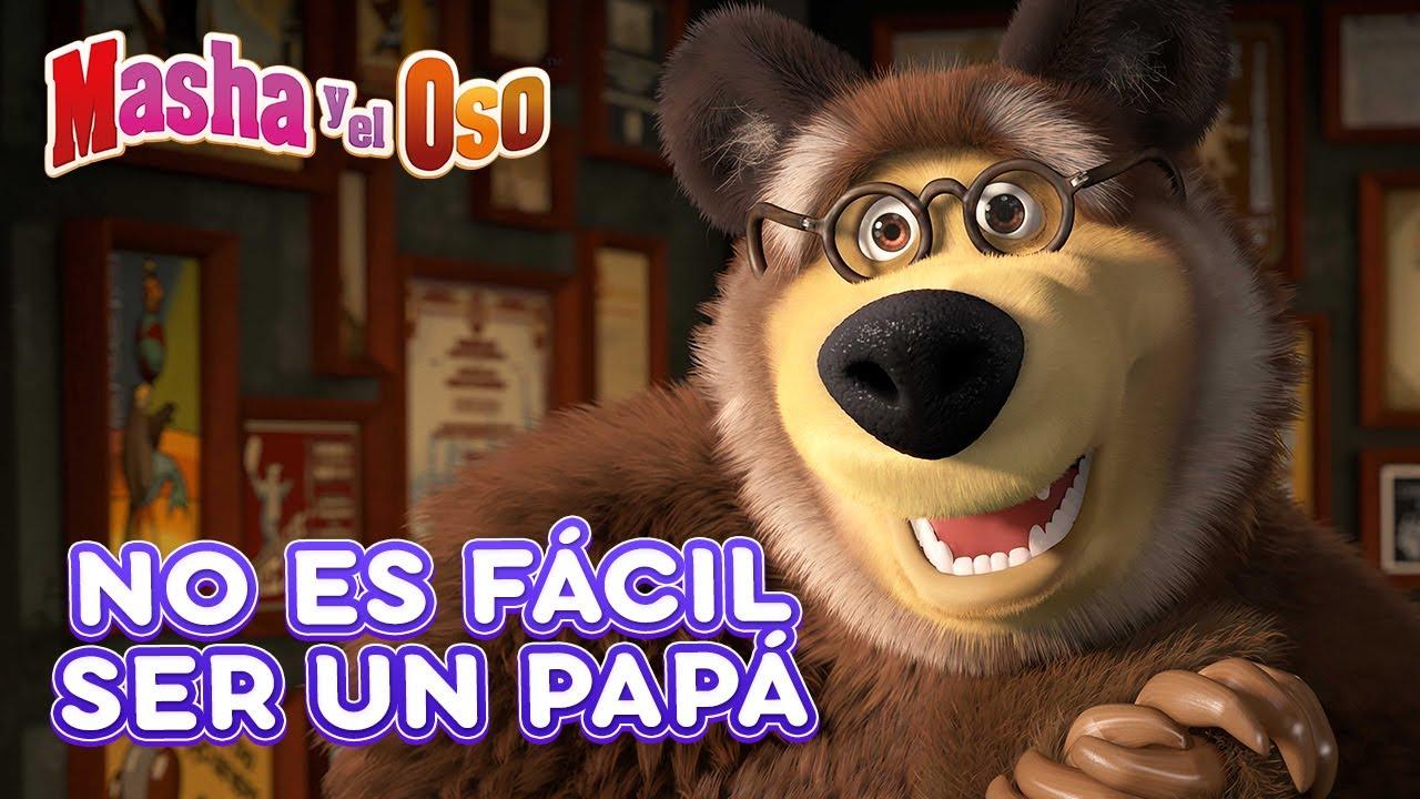 Masha y el Oso🐻👱♀️ No es fácil ser un papá 🏠 Colección de dibujos animados ✨ Masha and the Bear