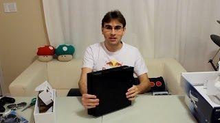 UNBOXING PLAYSTATION 4 - PS4 FINALMENTE!!!