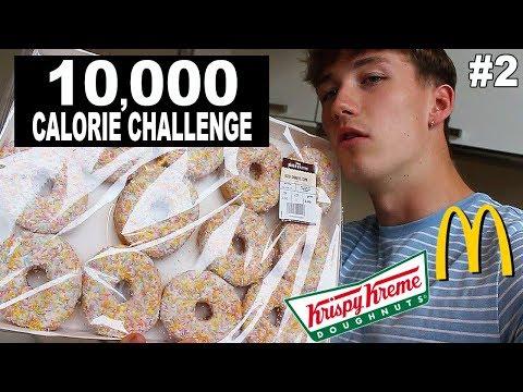 10,000 Calorie Challenge | Epic Cheat Day | Man vs Food!!