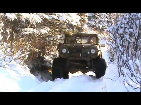 IH Scout in Alaska