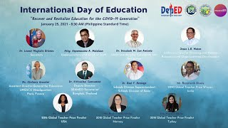 International Day of Education 2021 Online Forum