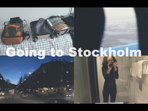 Vlog | Going to Stockholm