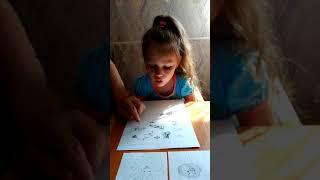 Вероника учится читать  Видеоурок звук Р