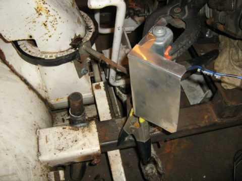 Diy Homemade Atv Snowblower, Part 3 Remote Chute Control
