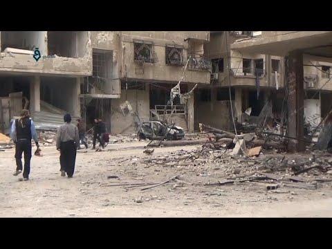 """Bombardment in Syria continues despite Russia's """"pause"""""""