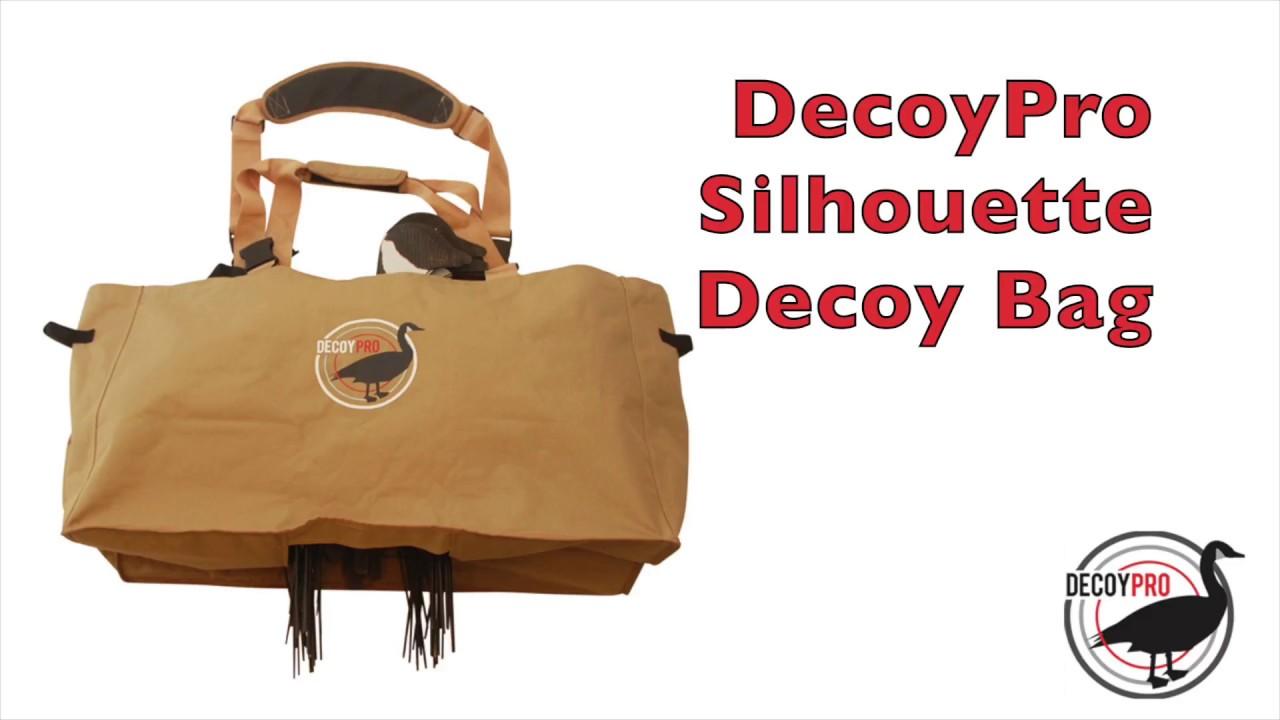 Silhouette Decoy Bags By Decoypro