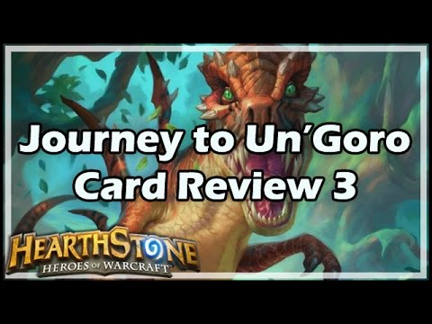 [Hearthstone] Journey to Un'Goro Card Review 3