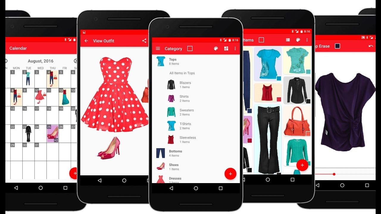 Virtual Closet App Android  Dandk Organizer