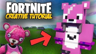 Fortnite Creative Tutorial: Cuddle Team Leader Skin Build