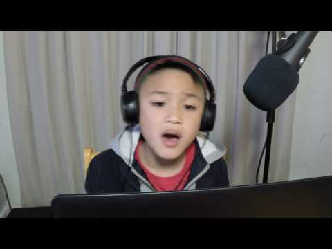 6 yr. old Baby Joe sings New Edition - Candy Girl