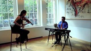 "Svenja Staats and Mike del Ferro - Improvisation on ""Englishman in New York"""